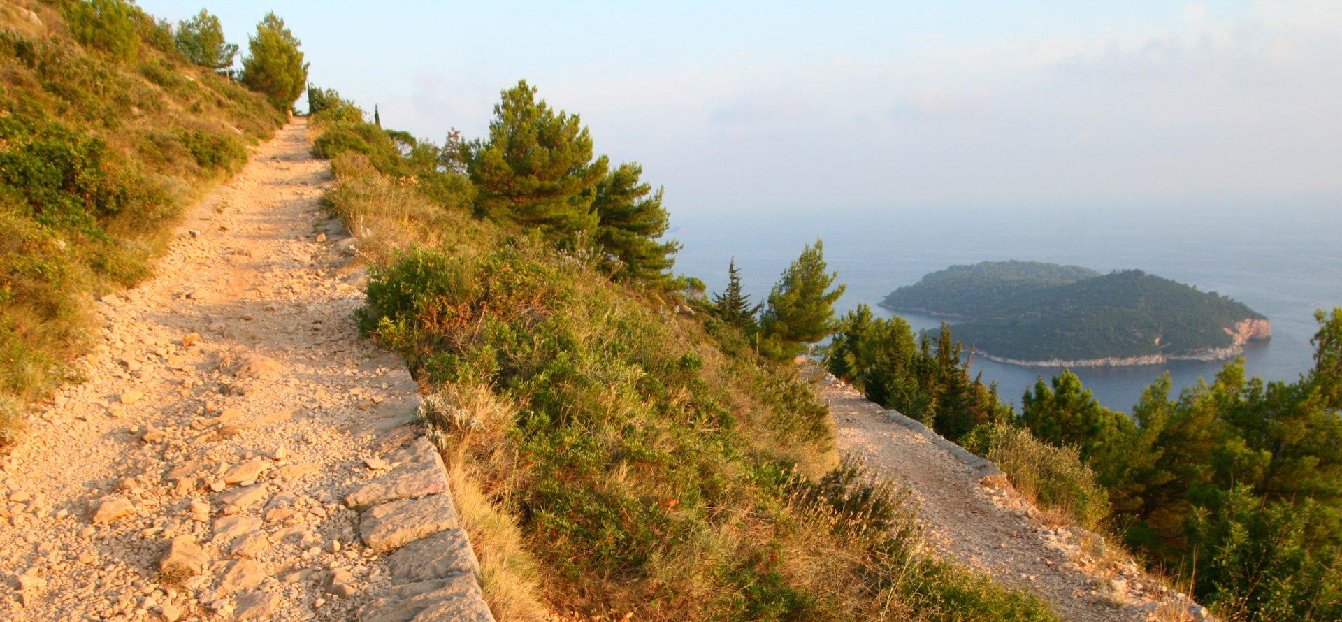 Mount Srd, Dubrovnik, Hrvatska, najlacnejšia dovolenka