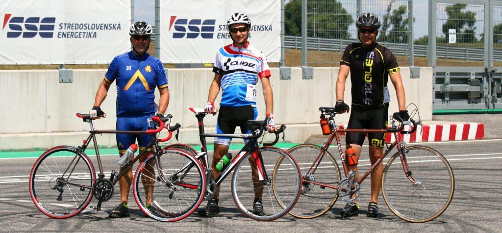 24 hodinovka Slovakia Ring Orechová potôň - cyklisti