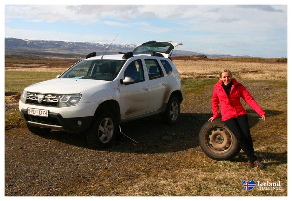 Dacia Duster s defektom