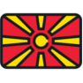 Macedónsko vlajka, Macedonia flag