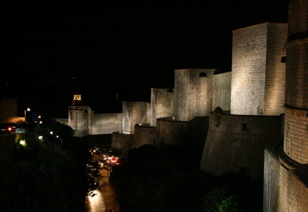 Mestské hradby Dubrovník, Chorvátsko