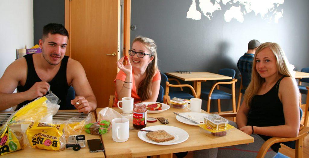Island - ubytovanie, hostel Akureyri