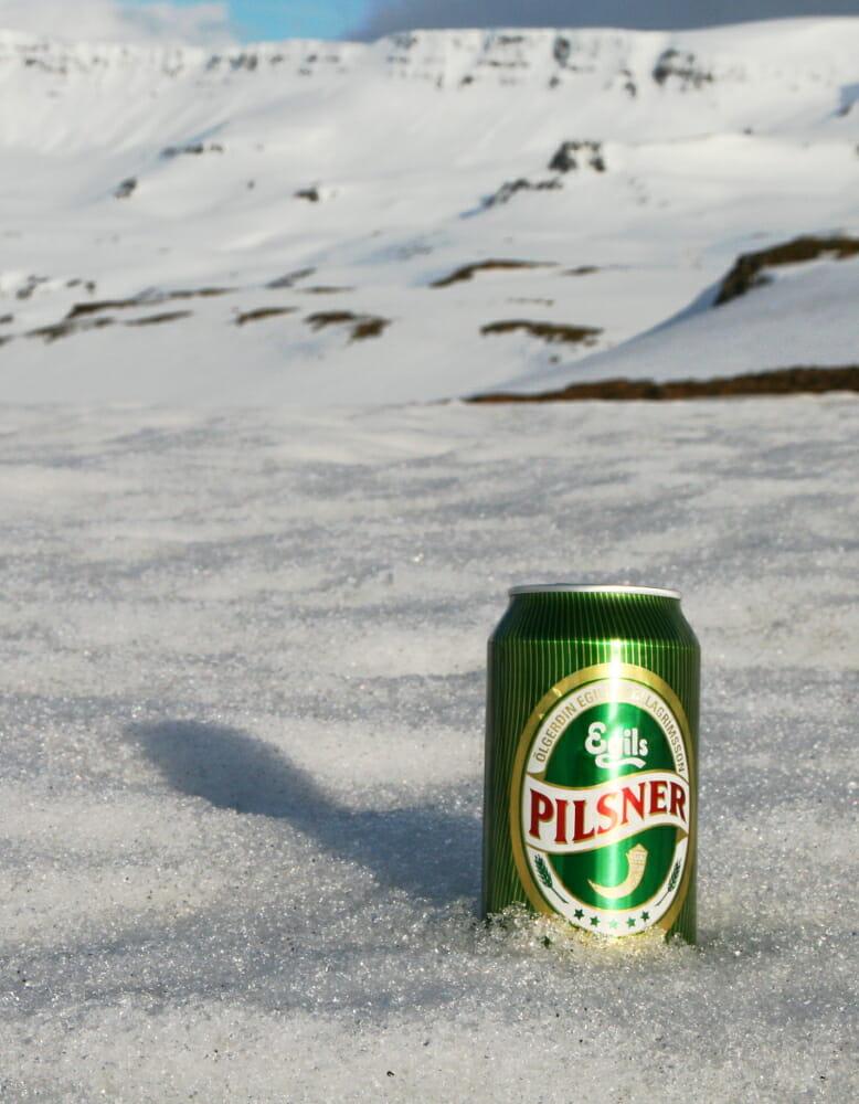 Islandské pivo Pilsner