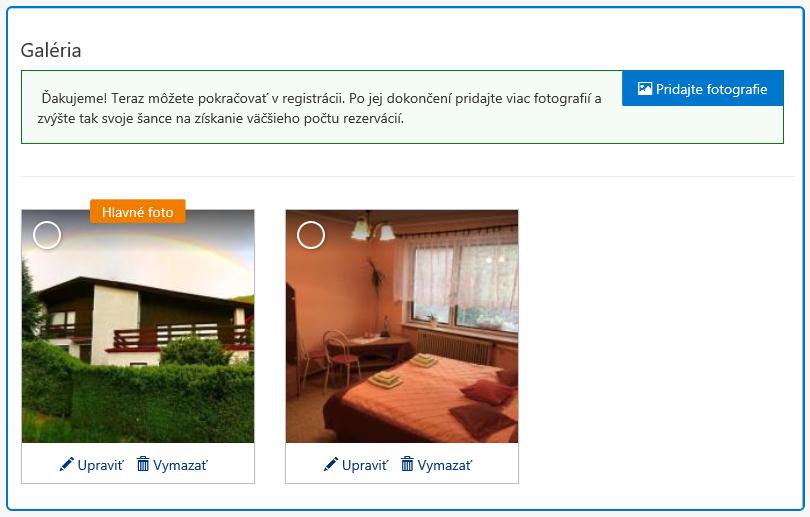 Booking.com - fotogaléria ubytovania