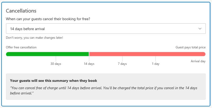 Booking.com - storno rezervácie