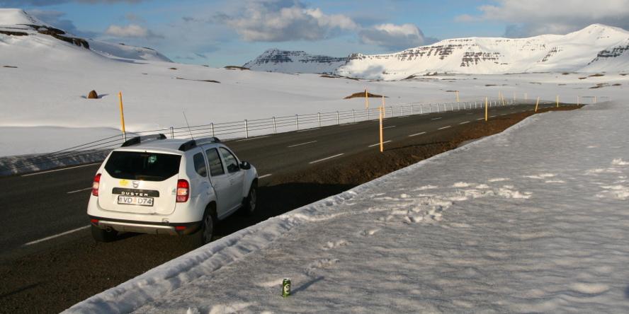 Island v máji