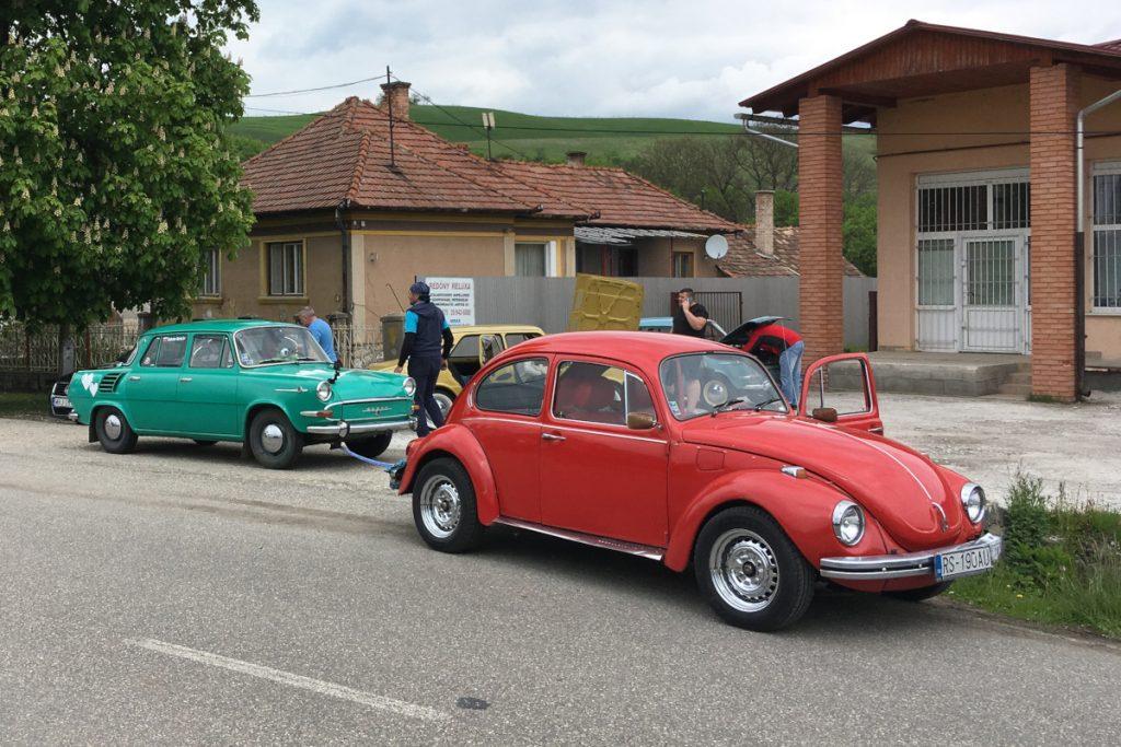 Veterány - Škoda 1000 MB a FIAT