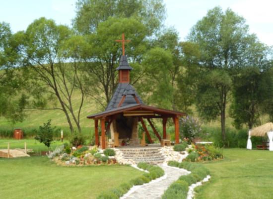 Galamba - kaplnka a pustovňa pri Fiľakove