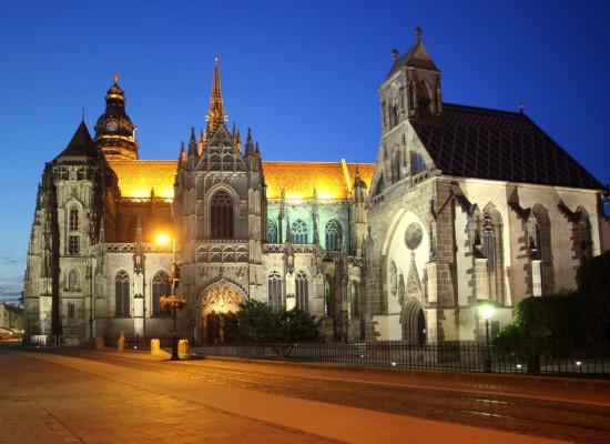 Košice, Dóm sv. Alžbety v noci