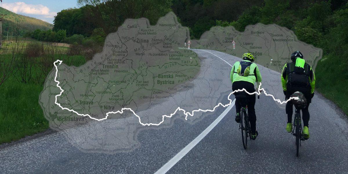 Na bicykloch cez Slovensko za 5 dní