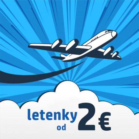 Vyhľadávač lacných leteniek - lacné letenky od 2 €