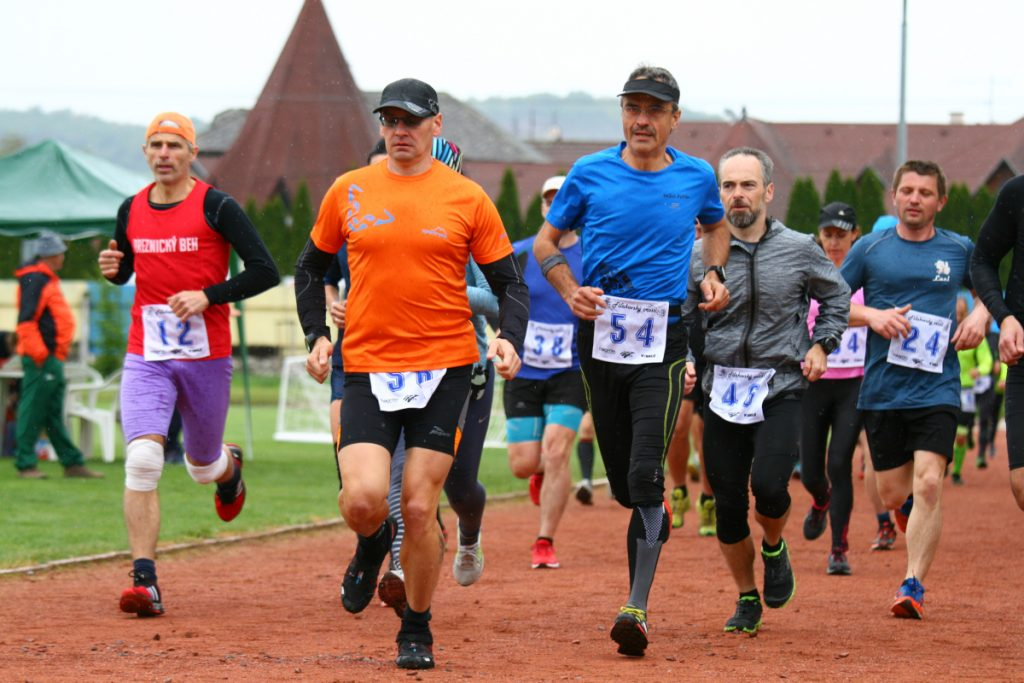 Fiľakovský cross 2019 - bežci vyštartovali