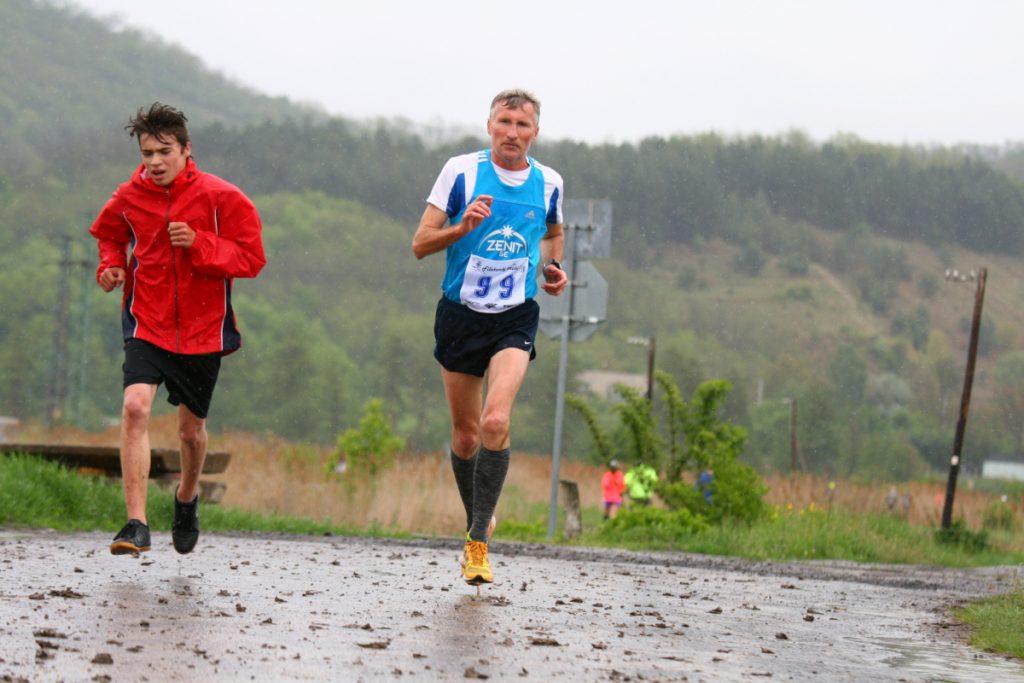 Fiľakovský cross 2019 - bežci na trati