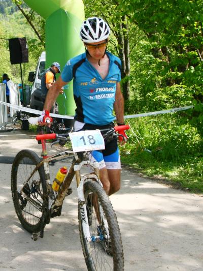 MTB maratón Levočské vrchy - cieľ, Marek Cibuľa, FTC CC Fiľakovo