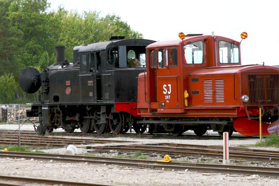 historické lokomotívy, Gotland