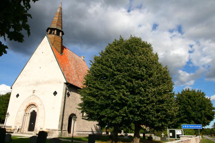 Västergarns kyrka, Gotland - church