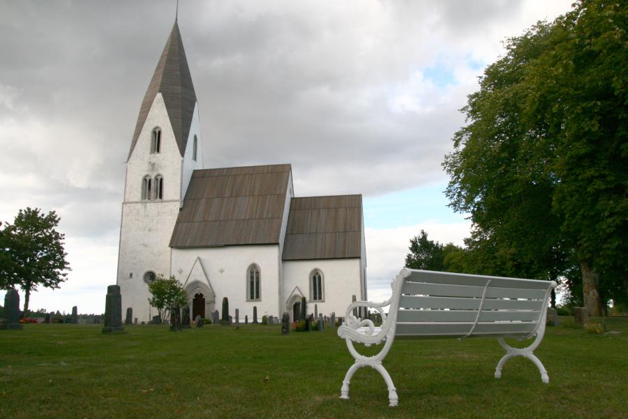 Tofta kyrka, Gotland - church