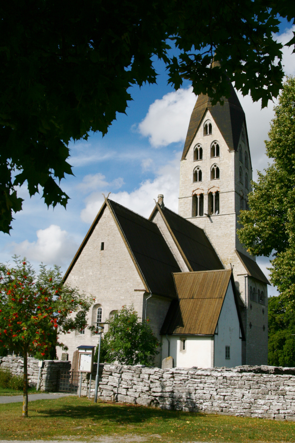 Tingstäde kyrka, Gotland - church