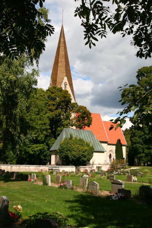 Klinte kyrka, Gotland - church