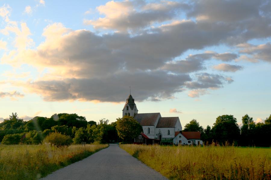 Grötlingbo kyrka, Gotland - church