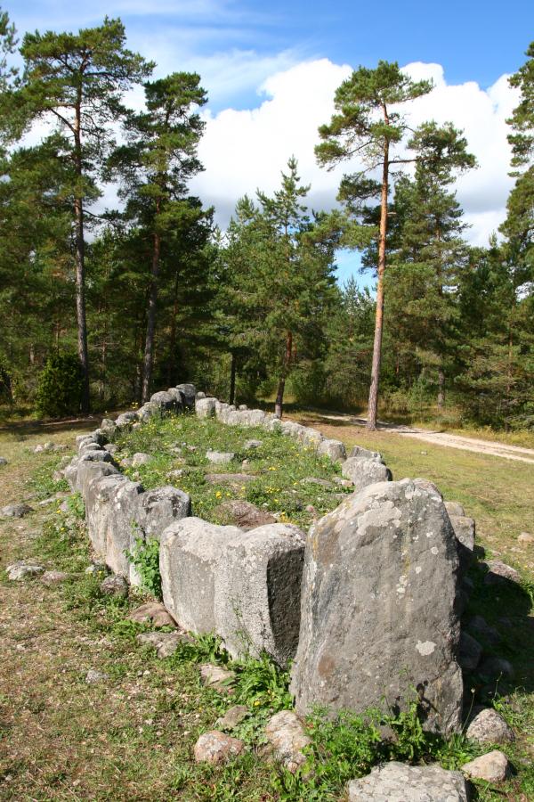 vikingský hrob, Gotland