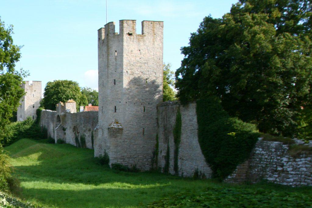 Stredoveké opevnenie vo Visby