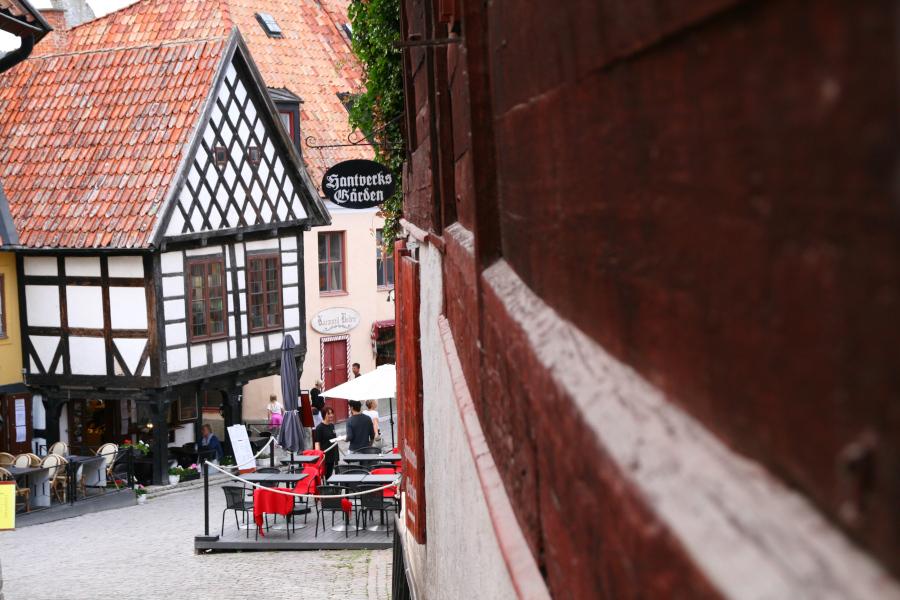 Visby - uličky historického mesta UNESCO