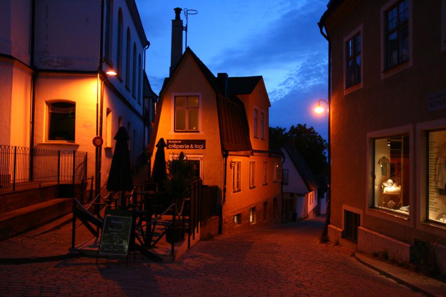 Visby - nočný život