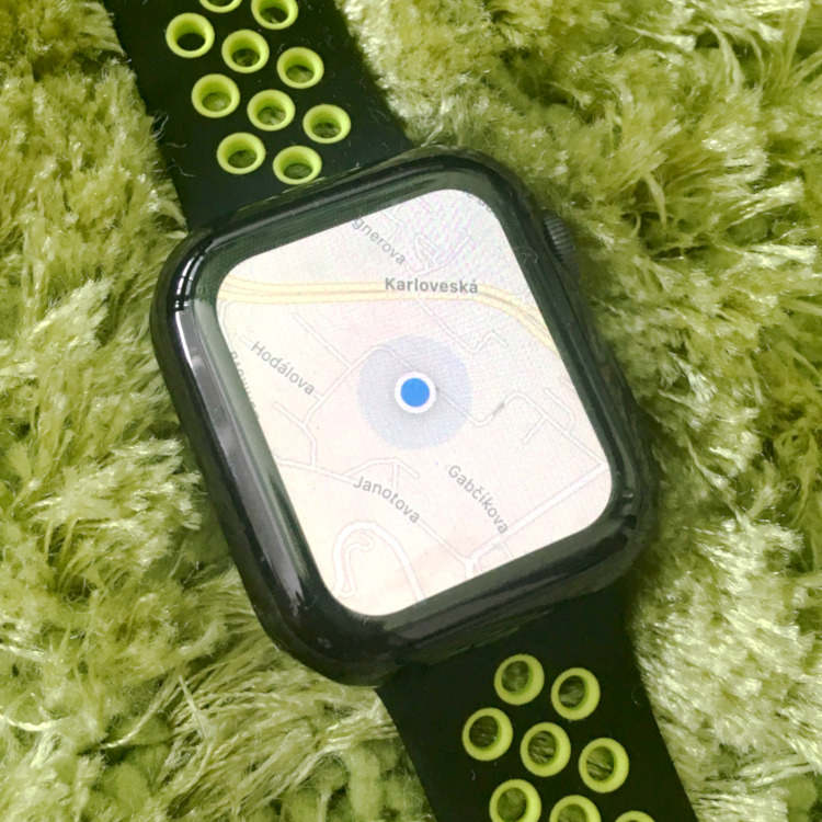 Apple Watch 4 - Apple Maps