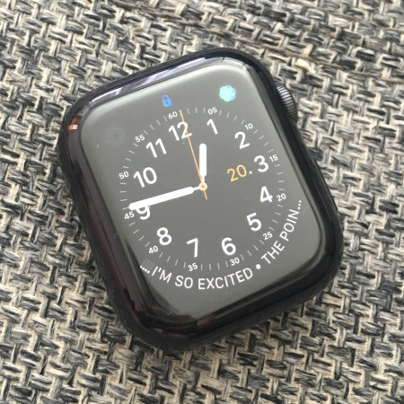 Apple Watch 4 - plastic case