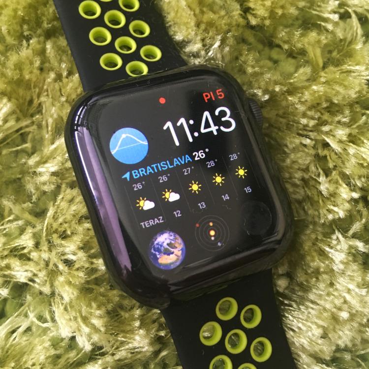 Apple Watch 4 - ciferník hodinky
