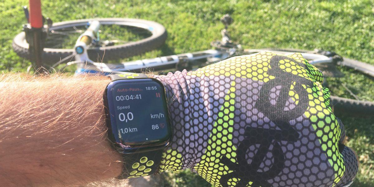 Recenzia Apple Watch 4 z pohľadu bikera
