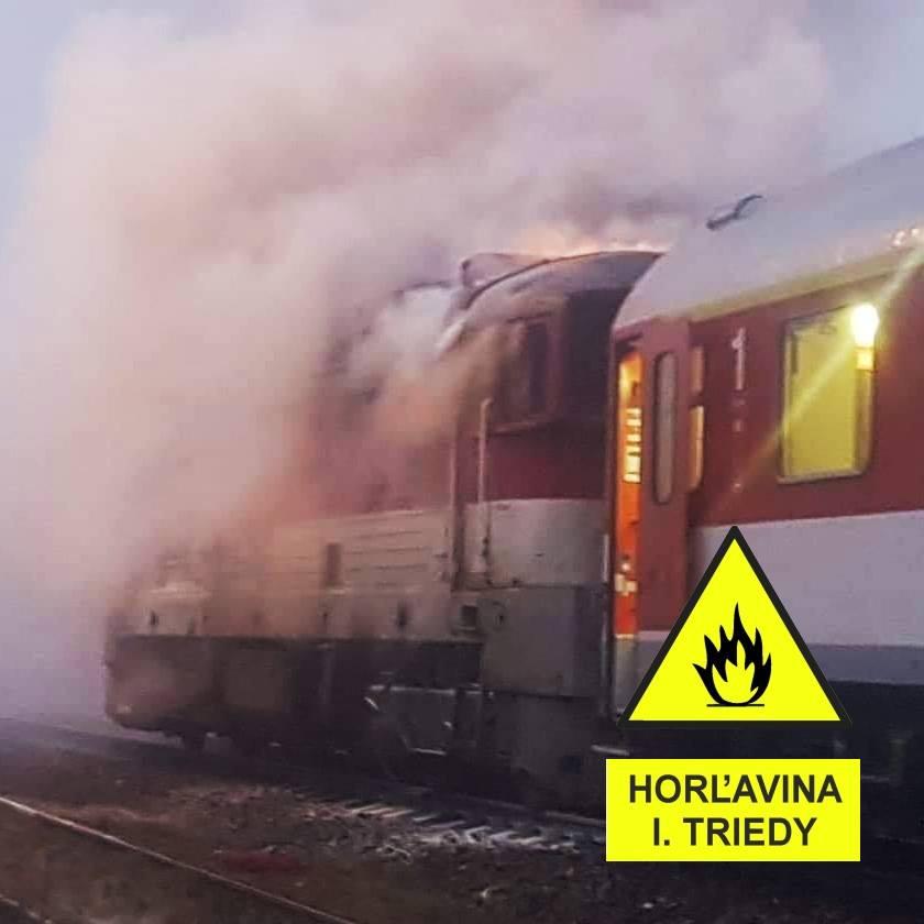 horiaci vlak ZSSK, ŽSR, ZOMRI meme