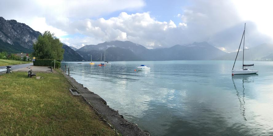 Rakúsko - jazero, Salzkammergut Trophy