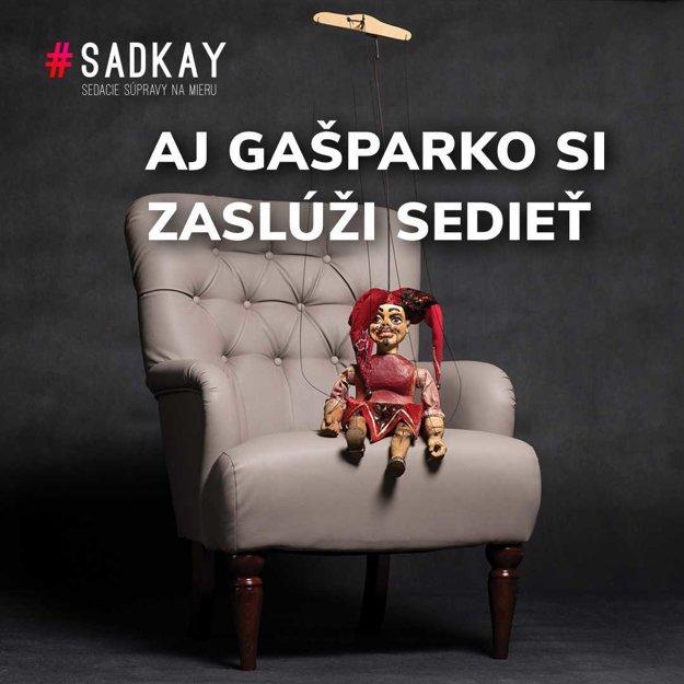 Sedačky Sadkay - Gašparovič