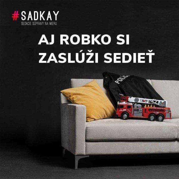 Sedačky Sadkay - Róbert Kaliňák