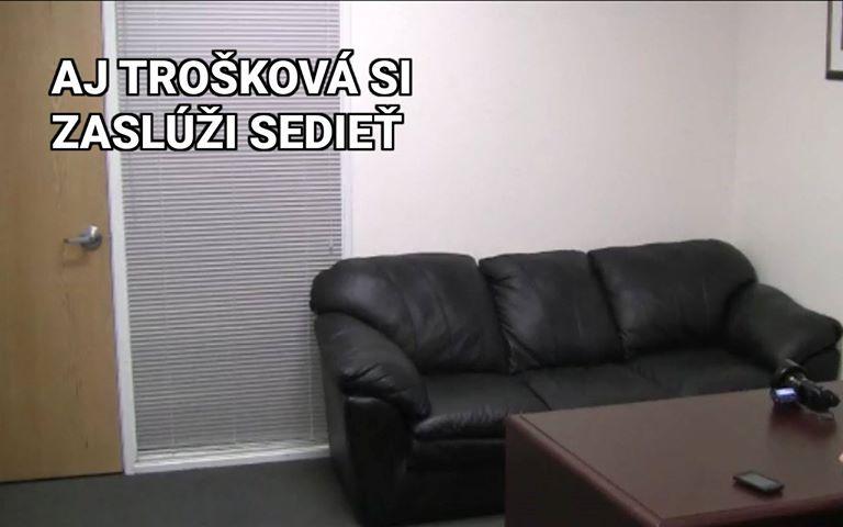 Trošková, Sadkay, fake agent couch, ZOMRI meme