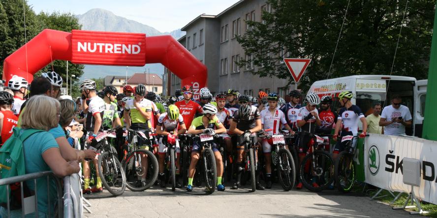Horal MTB maratón 2019 - Svit, štart pretekov na horských bicykloch