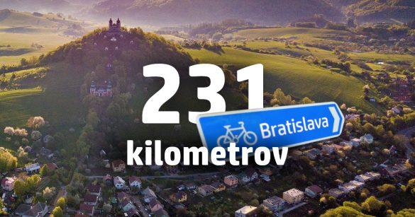 10 dôvodov, prečo ísť na bicykli z Banskej Štiavnice do Bratislavy 2