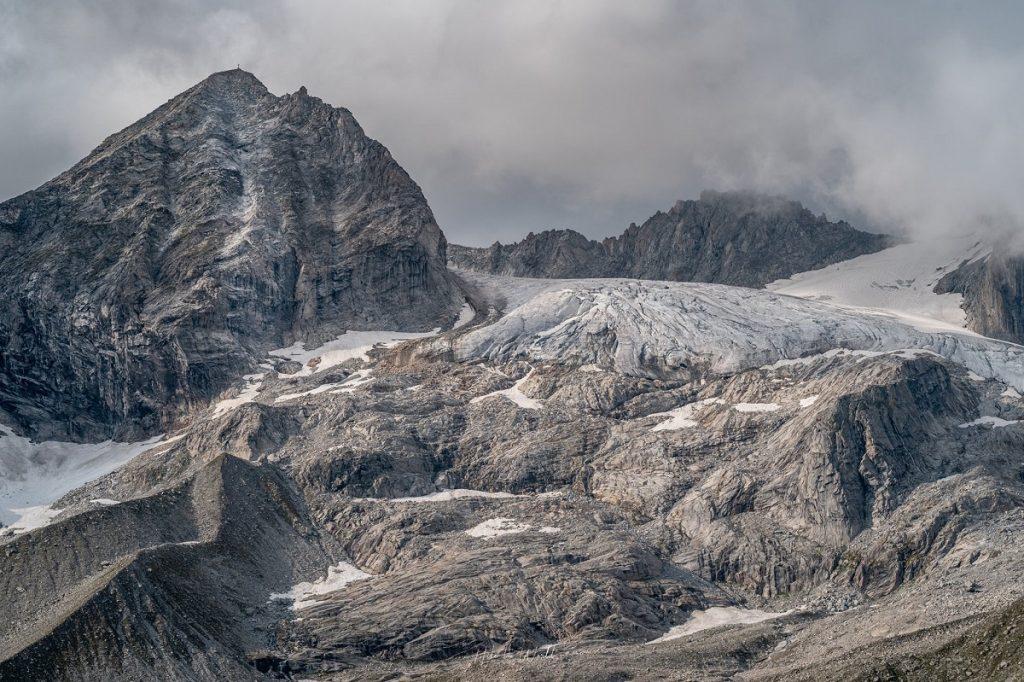 Dreiländer Tour - ľadovce v Alpách