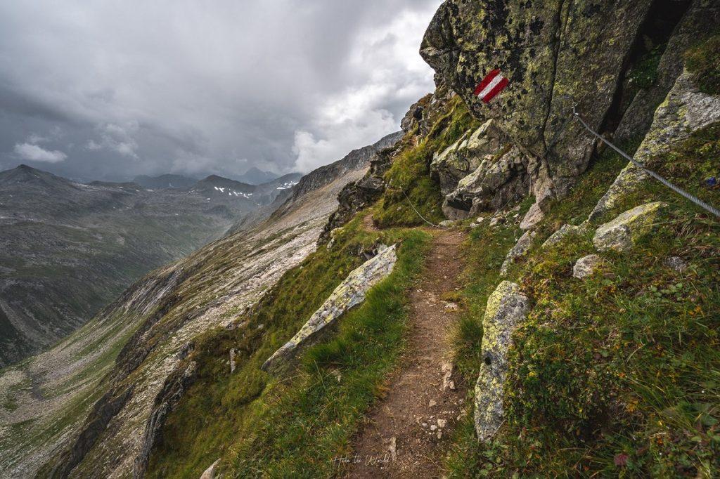Dreiländer Tour - Windbachscharte