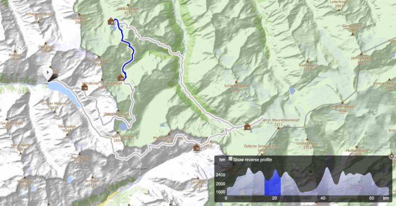 Dreiländer Tour - deň 3, Zittauer Hütte