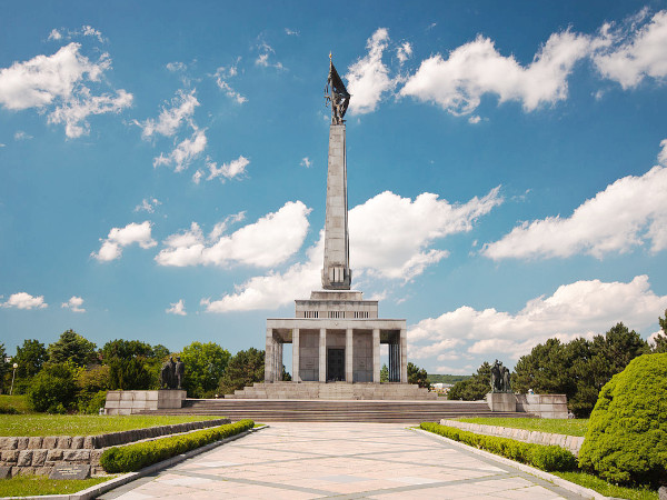 Slavín monument Bratislava