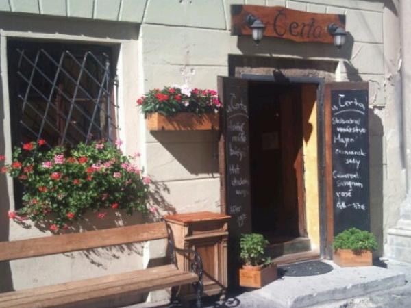 U čerta pub Bratislava bar