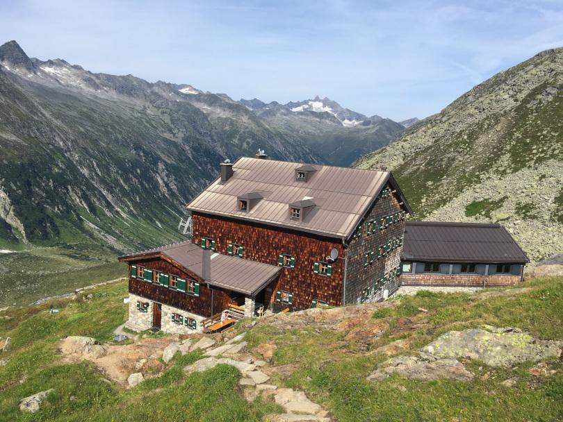 Warnsdorfer Hütte, Osterreich, Alpen