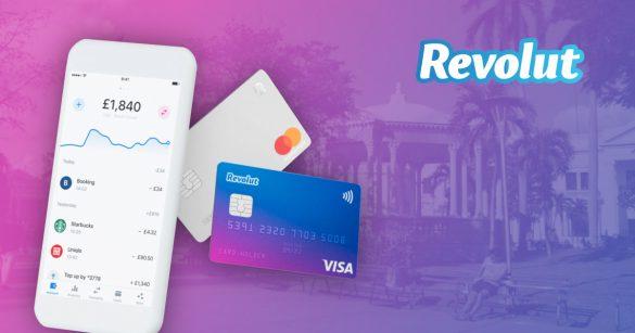 Revolut platobná karta a účet