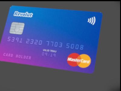 Revolut karta - MasterCard