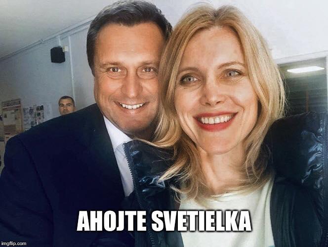 Ahojte svetielka, Silvia Šuvadová, Andrej Danko