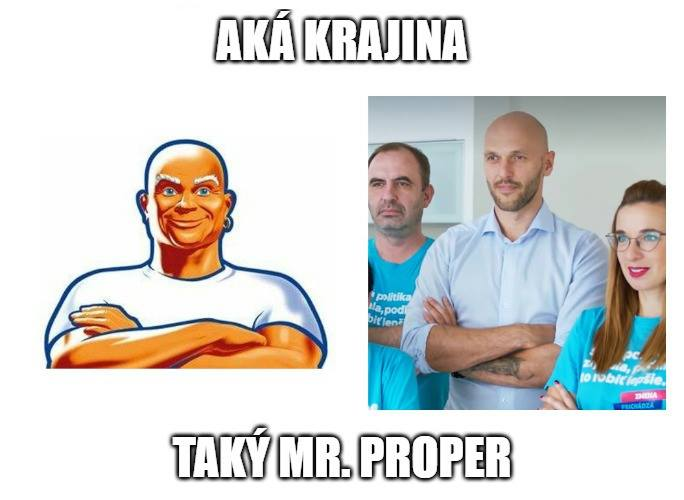 Mr. Proper Michal Truban
