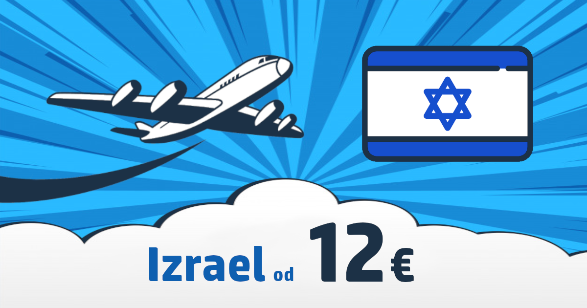 Lacné letenky do Izraela